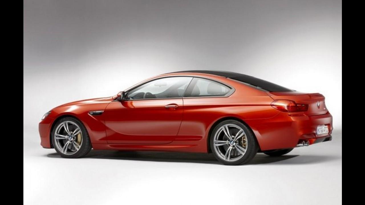 BMW M6 2012 tem detalhes e imagens revelados