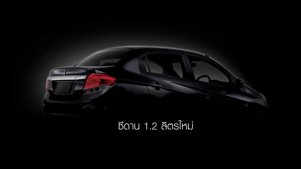 Honda divulga primeiro teaser do compacto Brio em inédita versão sedã