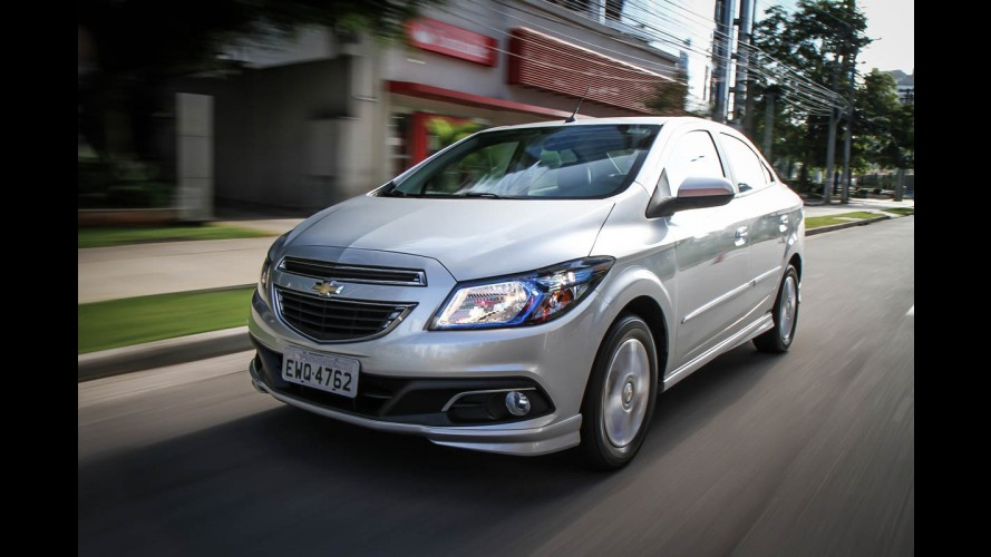 Chevrolet faz recall de 238 mil veículos no Brasil por risco de incêndio