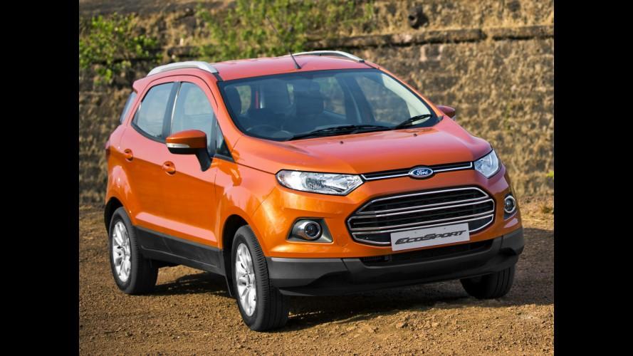 Oito meses! Ford EcoSport tem longa fila de espera na Índia