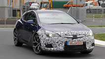 2012 Opel Astra OPC spied with minimal camouflage