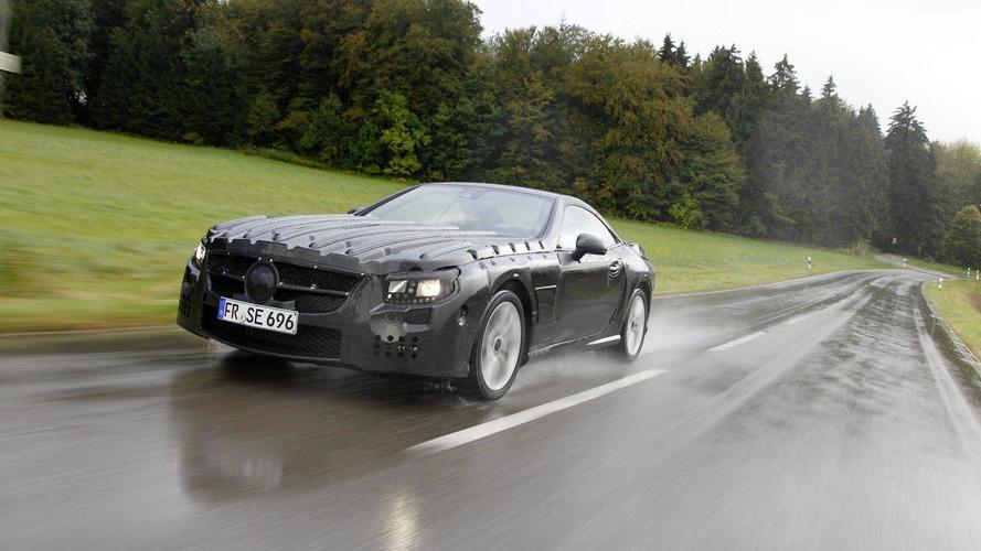 2012 Mercedes-Benz SL-Class - new pics