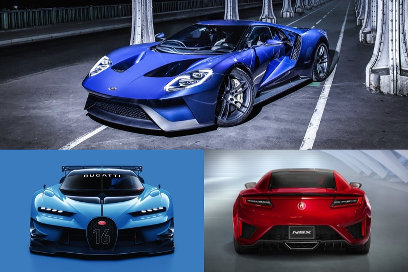 Sports Cars And Supercars To Look Forward To In - All sports cars 2016