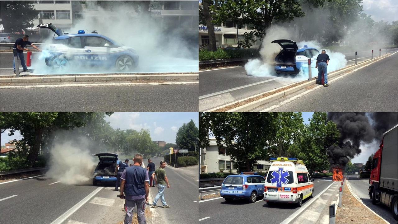 BMW i3 collage