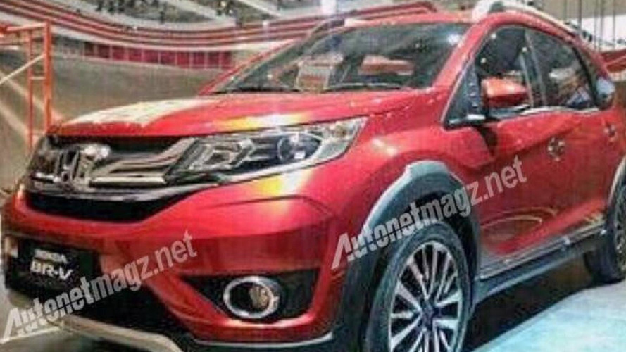 Honda BR-V partially revealed ahead of tomorrow's debut