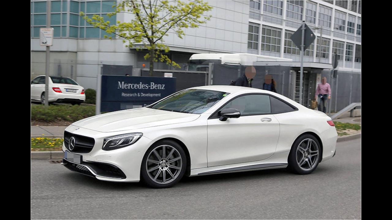 Mercedes-AMG S 63 Coupé Versuchsträger