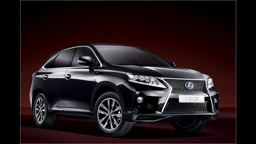Neue Sportvariante des Lexus-SUV