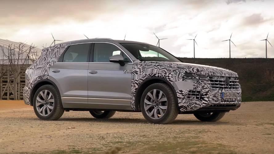 Nuova Volkswagen Touareg, il video teaser
