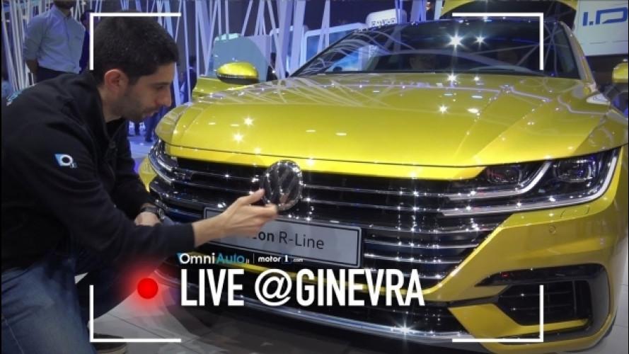 Salone di Ginevra, com'è la Volkswagen Arteon da vicino [VIDEO]