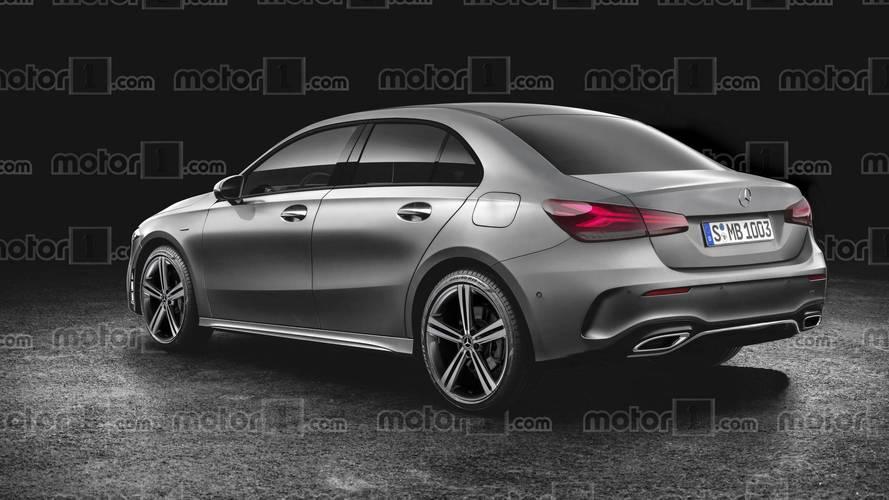 Novo Mercedes Classe A Sedan tem estreia confirmada para o Salão de Pequim