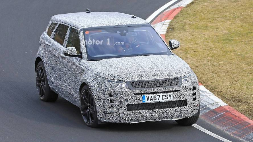 New Range Rover Evoque Seen Abusing Its Tires At The Nurburgring