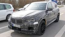 2020 BMW X5 M new spy photos
