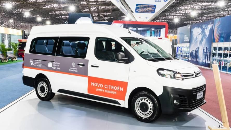 Citroën Jumpy Minibus chega com 11 lugares e preço de  R$ 118.600