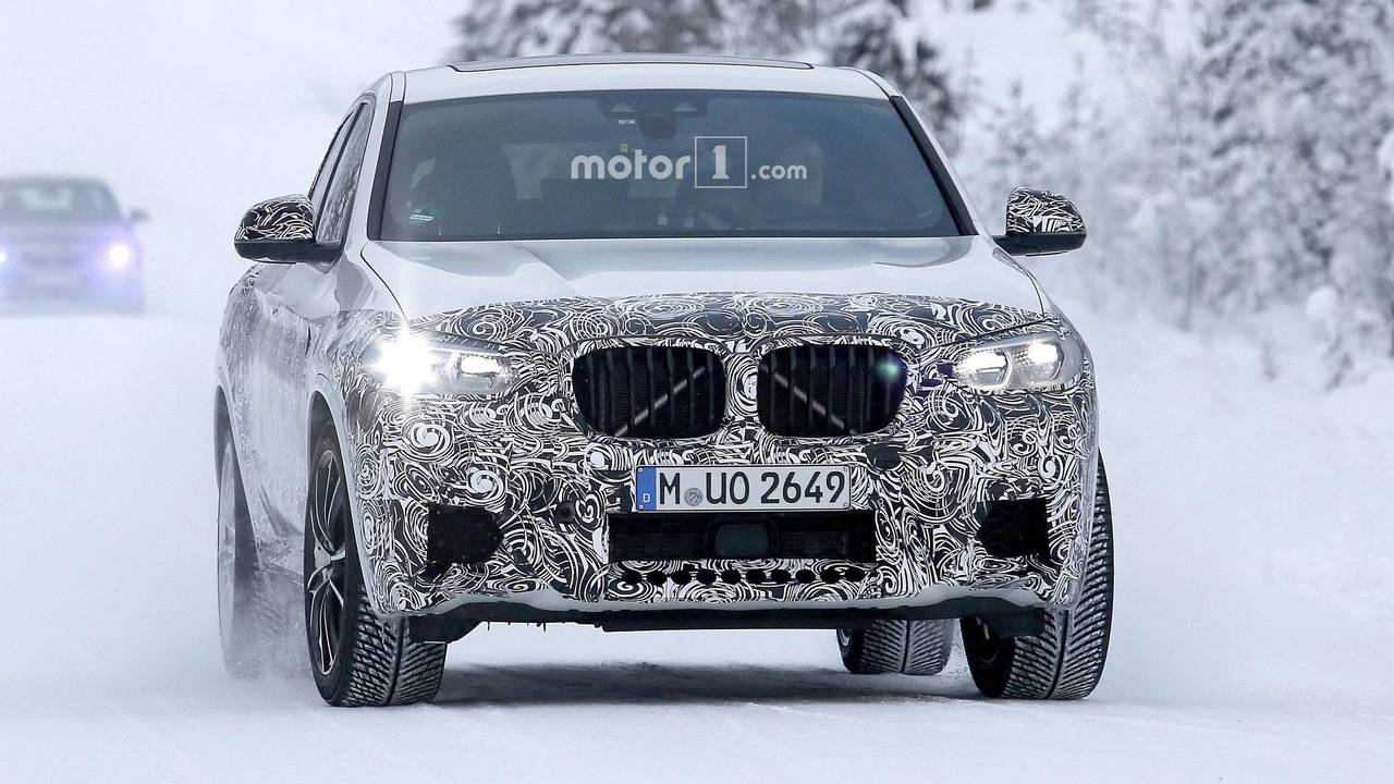 2020 BMW X4 M spy photo