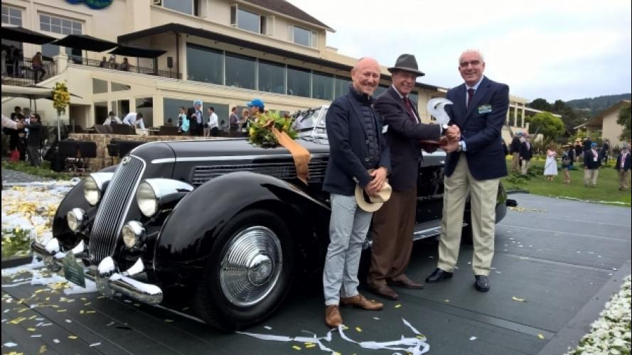 Pininfarina vince a Pebble Beach con Lancia e Ferrari