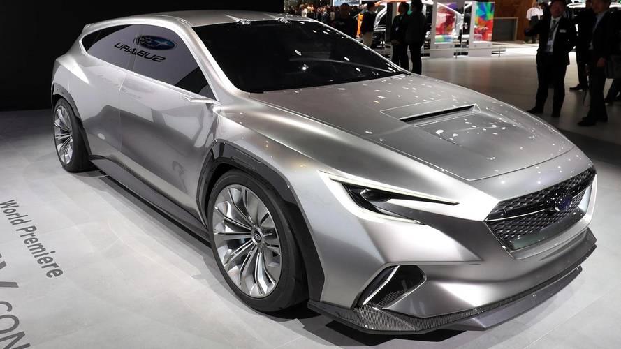 Subaru Viziv Tourer Concept Is A Racy AWD Wagon With Boxer Power