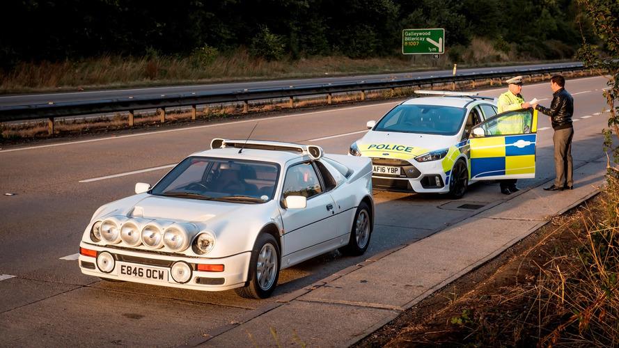 İngiliz polisi, RS200'den 30 yıl sonra Focus RS'i deniyor