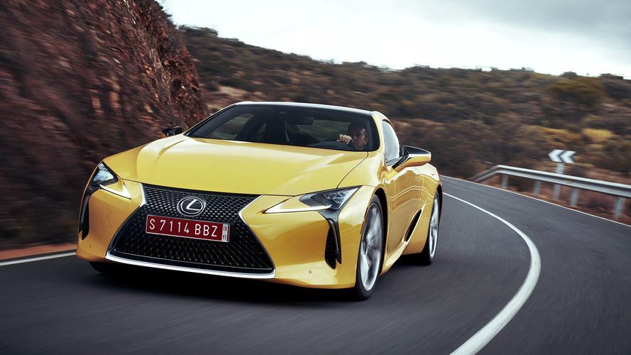 Toyota'nın yeni patent dosyası Lexus LC F modeline ipucu veriyor