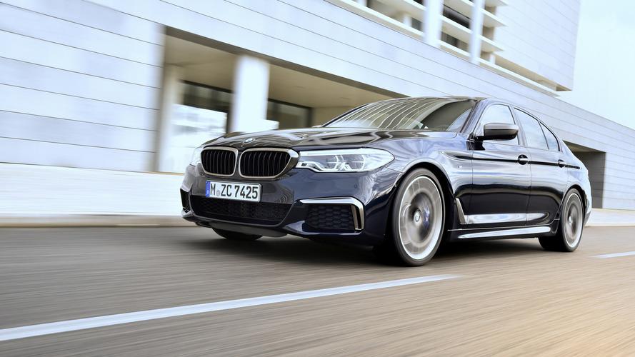 2017 BMW M550i xDrive (Euro-spec model)