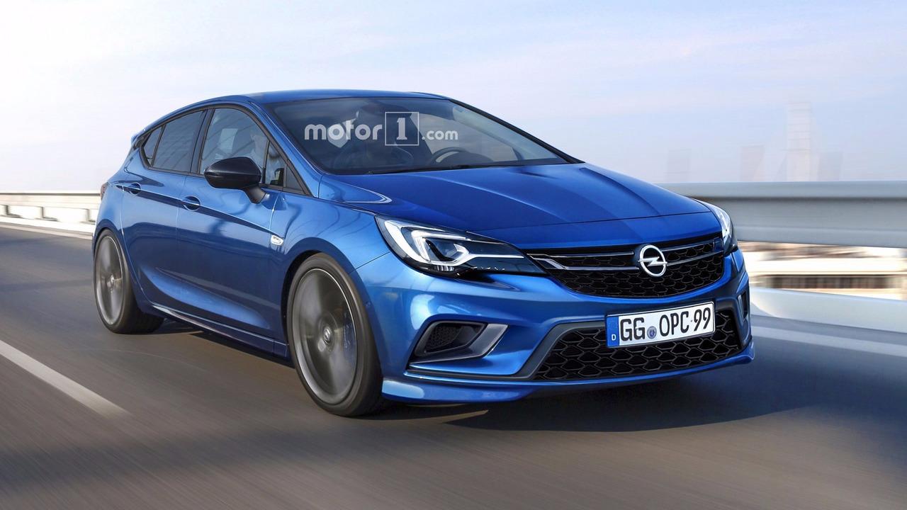 2018 Opel Astra OPC tasarım yorumu