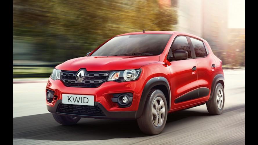 Graças ao Kwid, Índia se torna 6º maior mercado global da Renault