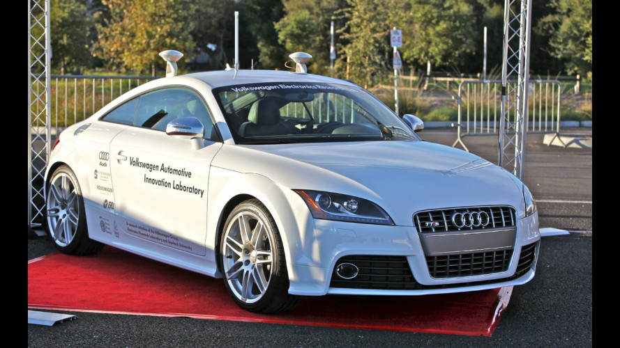 Audi TT-S senza pilota per la Pikes Peak