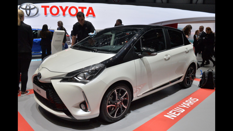 Ginevra, la Toyota Yaris restyling fa il lupo e l'agnello [VIDEO]