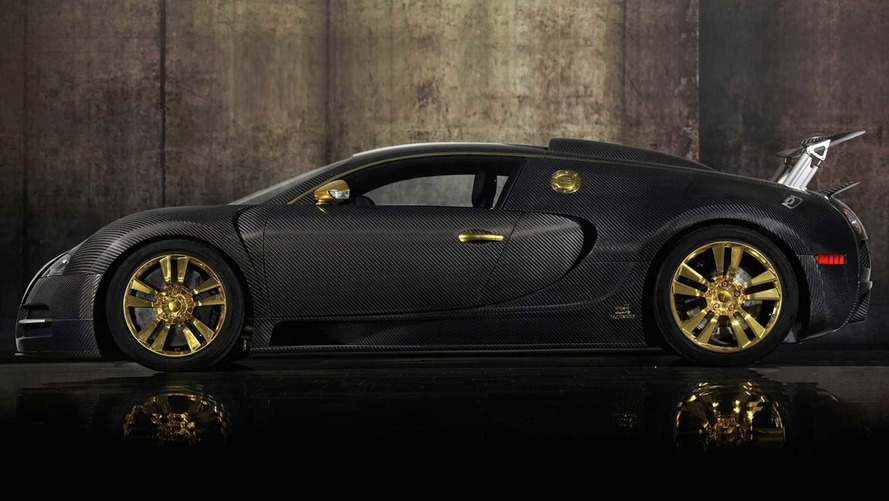 The World's Only Bugatti Veyron Mansory Linea Vincero Is For Sale