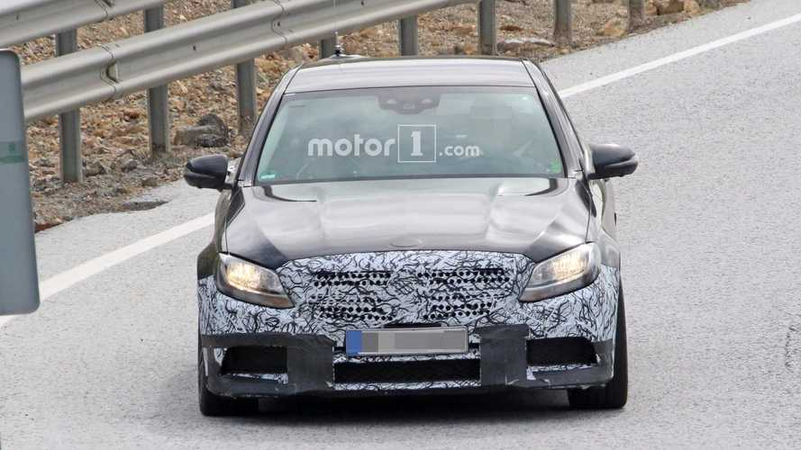 Mercedes-AMG C63 Saloon Facelift Spied