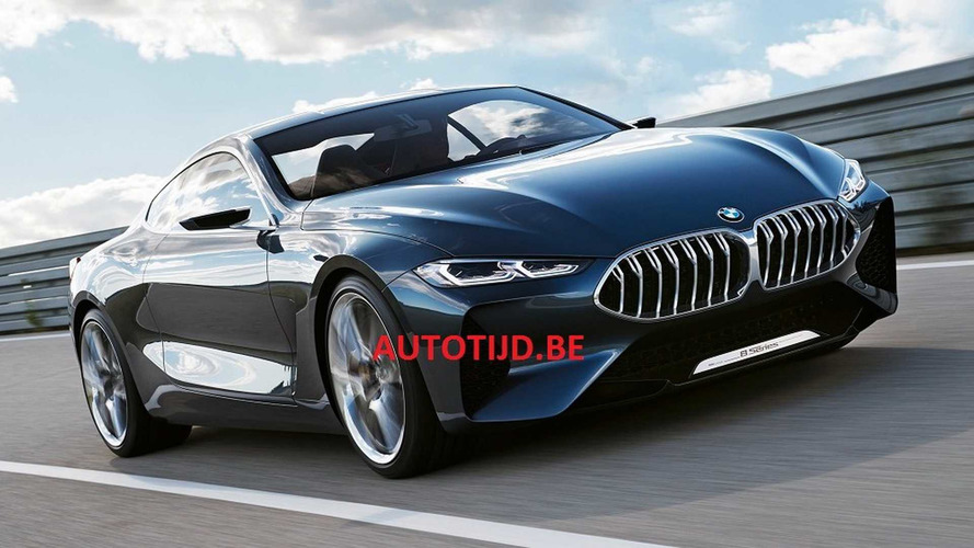 BMW 8 Series Concept Leaks