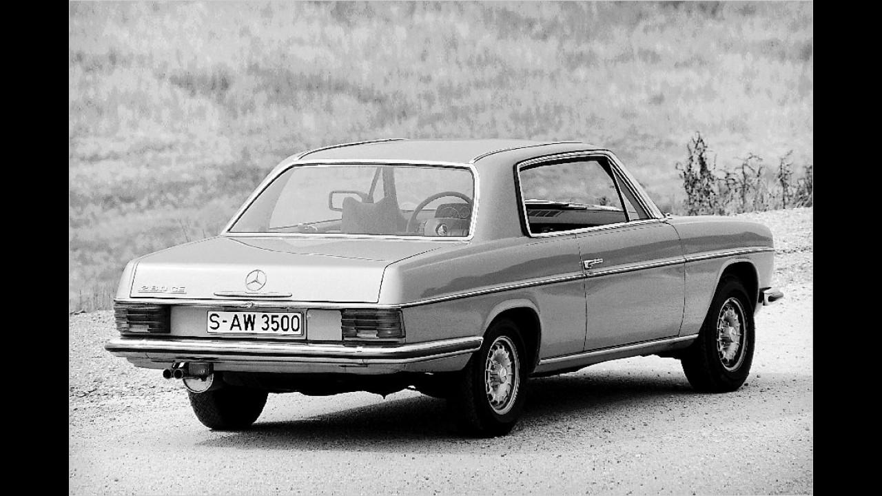 1969-1976: Mercedes W 114 Strich-Acht Coupé