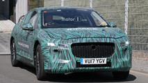 2018 Jaguar I-Pace new spy shots