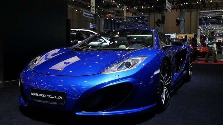 Gemballa GT based on McLaren MP4-12C bows in Geneva