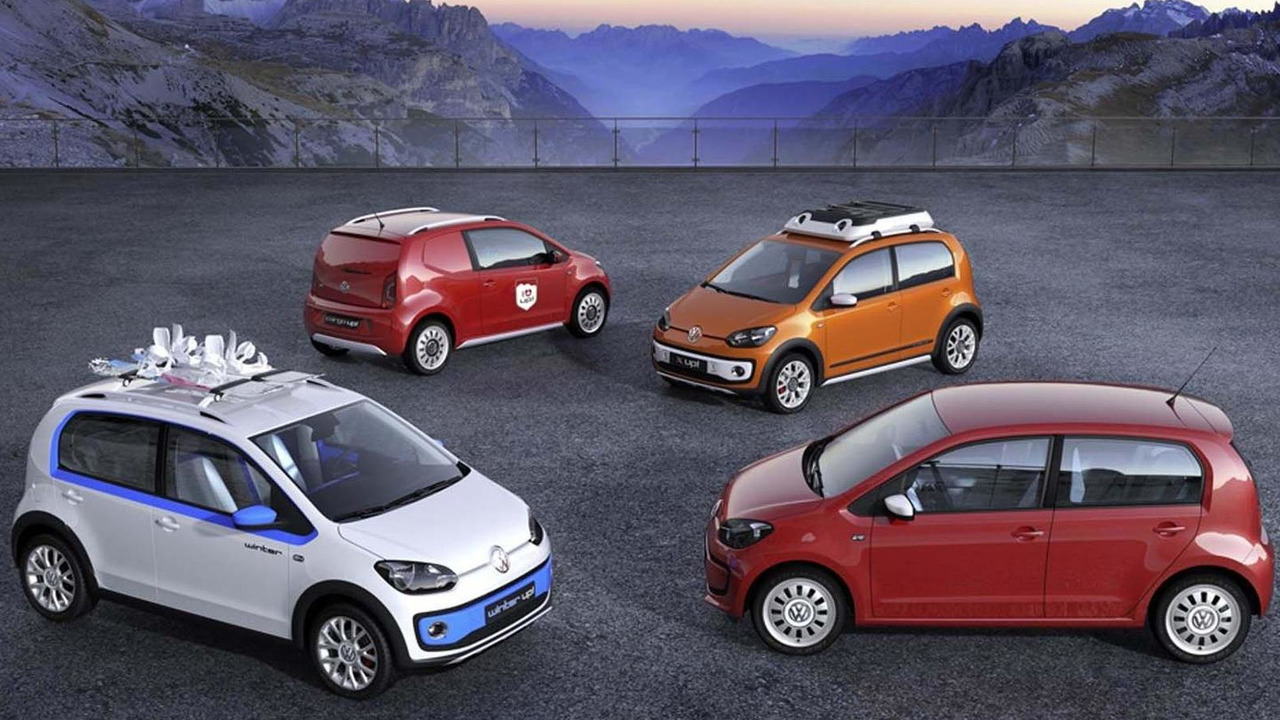 Volkswagen Up! Concepts - Swiss Up, Winter Up, X Up and Cargo Up