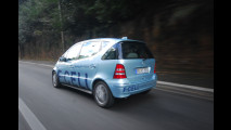 Mercedes Classe A Fuel Cell: provata ad H2Roma 2008