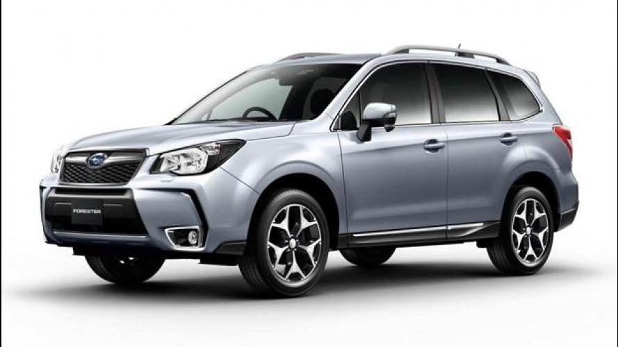 La nuova Subaru Forester è pronta al debutto giapponese