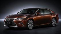 Lexus brings facelifted ES with 2.0-liter 4-cylinder engine to Shanghai