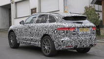 Jaguar F-Pace SVR spy photo