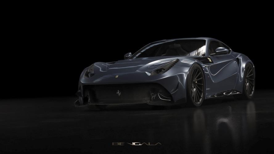 La Ferrari F12 se pare de carbone avec le kit Bengala
