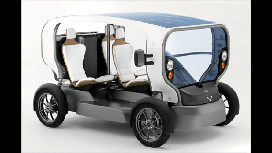 Venturi Eclectic: Umweltfreundliches Elektro-Mobil