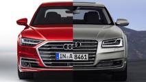 Audi A8 2018: comparativa con su antecesor
