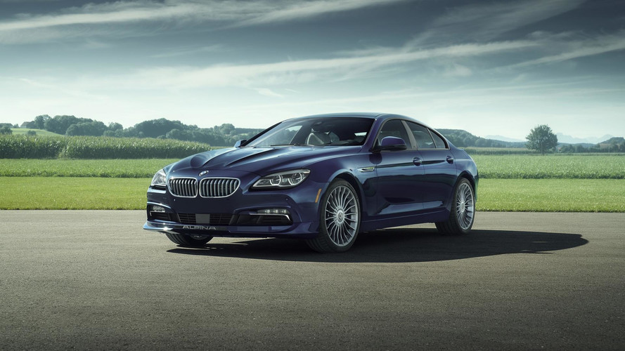 BMW And Alpina Made This Unique B6 Gran Coupe Just For A Raffle