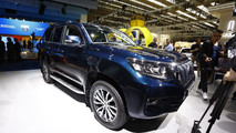 2018 Toyota Land Cruiser official images