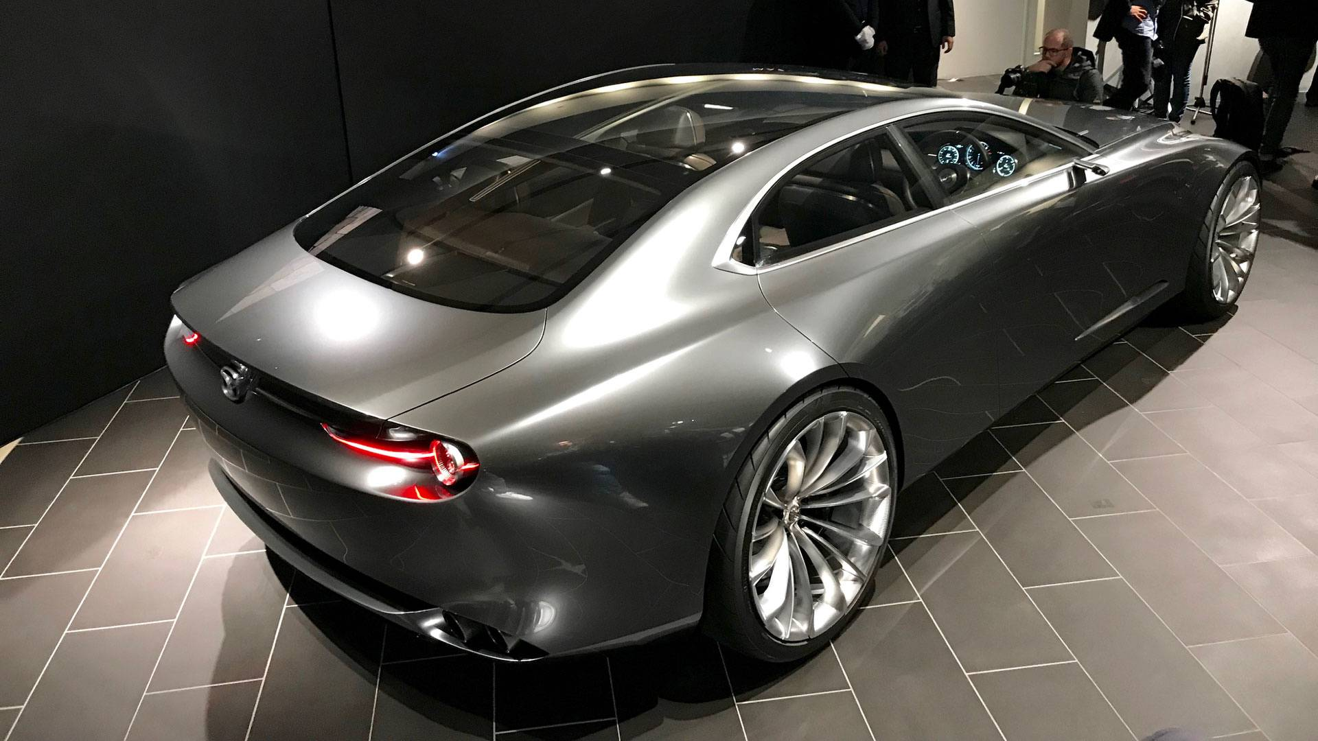 VWVortex.com - Mazda Vision Coupe Concept Is One Sexy ...