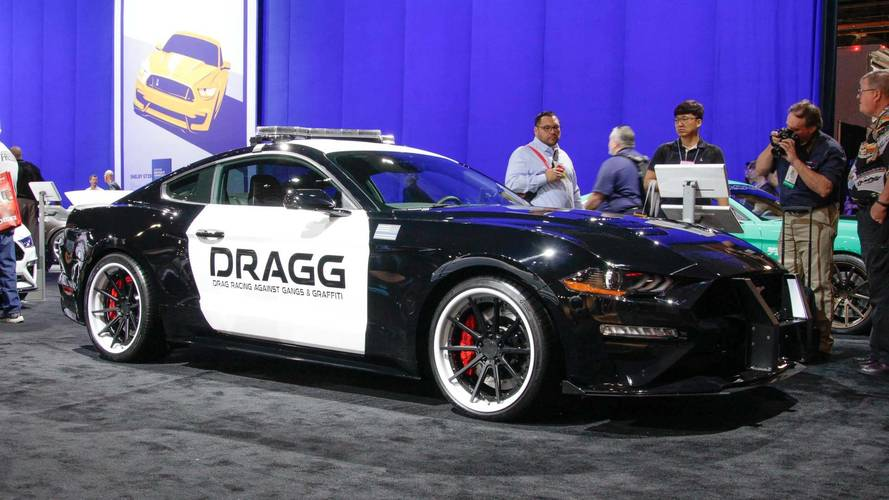 7 Tuned Ford Mustangs, Live From SEMA