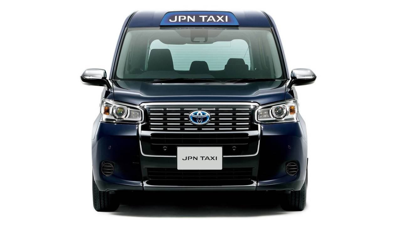 Toyota has a new taxi for japan and it runs on lpg for Tj motors new london