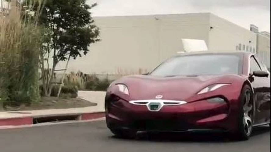 See The Fisker EMotion Driven In Public