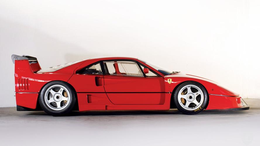 Cette magnifique Ferrari F40 LM coûte 5 millions d'euros