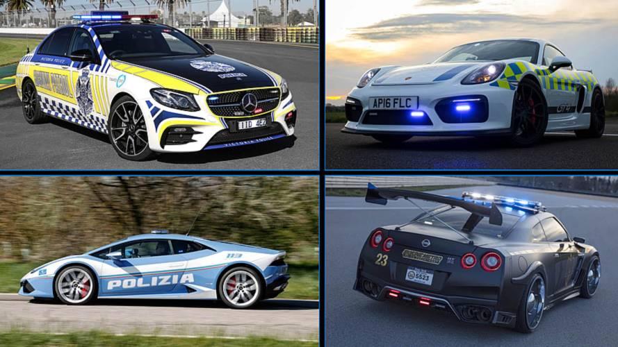 7 coches Premium de policía: ladrones, lo tenéis crudo...