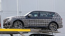 2019 BMW X7 new spy photos